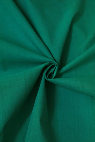 Blueish Green Handwoven Mangalagiri Cotton Fabric-0.6m