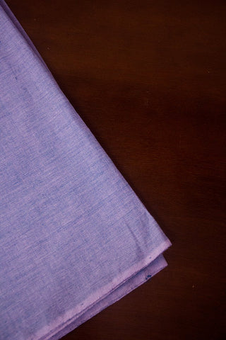 Greyish Lavendar Handwoven Cotton Fabric