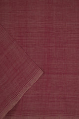 Onion Pink Handwoven Cotton Fabric