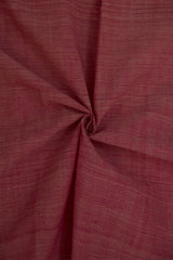 Onion Pink Handwoven Cotton Fabric - 2.3m