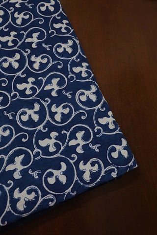 Floral Block Printed Fabric