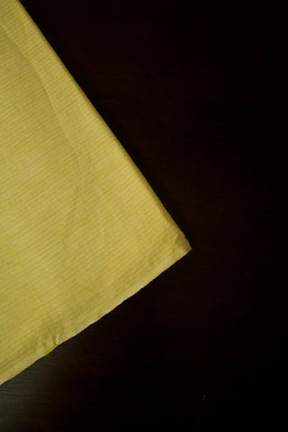 Cream subtle stripes Handwoven Cotton Fabric