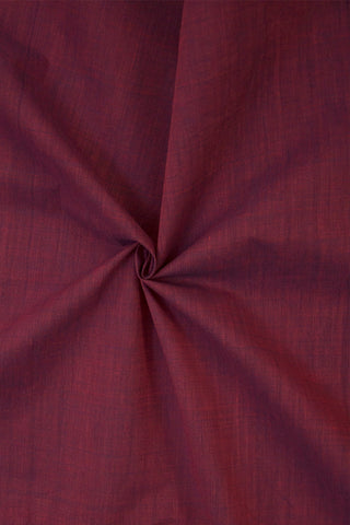 Double Shaded Purple Handwoven Cotton Fabric