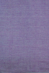 Greyish Blue with Purple Pin Stripe Lines Handwoven Cotton Fabric