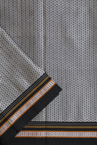 Silver Khun Cotton Fabric