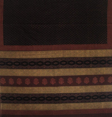 Block Printed Mul Cotton Saree