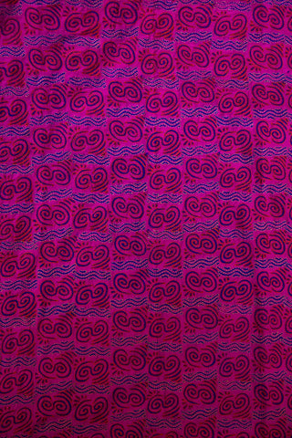 Pink Plain Tussar Silk Fabric with Kantha Silk Dupatta