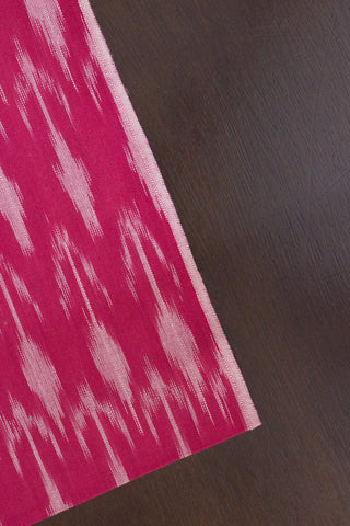 Arrows in Pink Handwoven Ikat Fabric