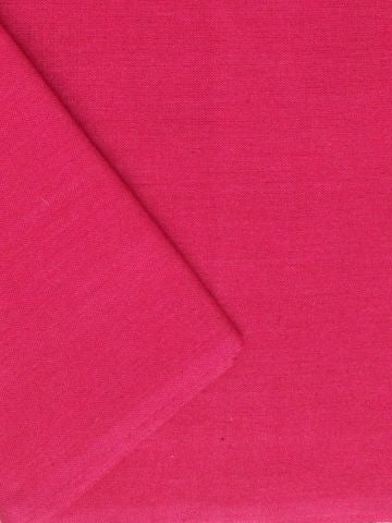 Pink Yarn Dyed Handwoven Cotton Fabric