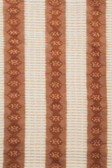 Brown Fine Ikat Hand Woven Cotton 1.5 m