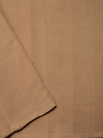 Light Beige Handwoven Cotton Fabric