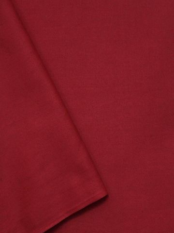 Dark Pink Handwoven Linen Cotton Fabric - 62 inch