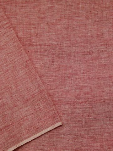 Double Shade Handwoven Linen by Linen Fabric - 62 inch