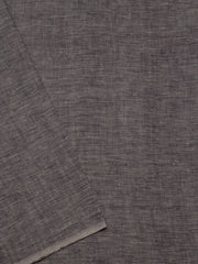 Double shade Grey Handwoven Linen by Linen Fabric - 62 inch