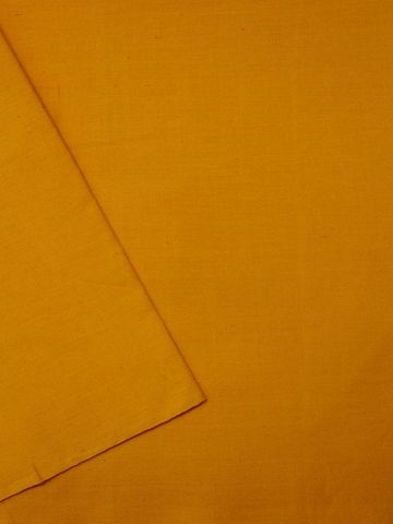 Mango Yellow Yarn Dyed Handwoven Cotton Fabric