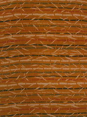 Bamboo Forest - Hand Woven Screen Printed Cotton Fabric