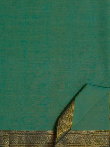 Double Shade Blue Mangalagiri Cotton Saree