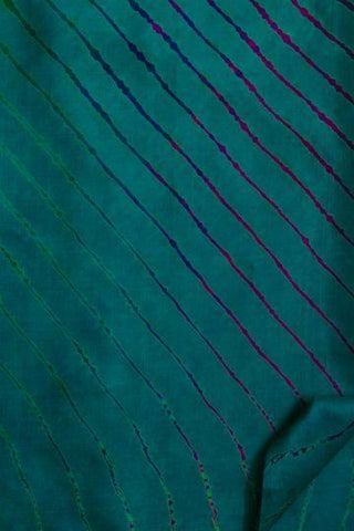 Blue Leheriya Tussar Silk Saree