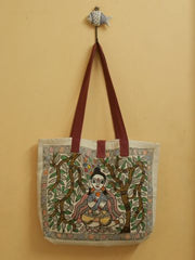 Madhubani Painted Hand Bag