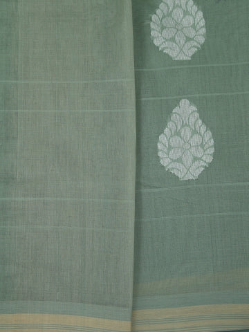 Natural Dyed Hand Woven Thread Work Saree