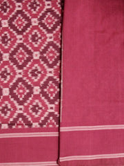 Shades of Red - Handwoven Ikat Saree