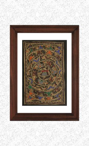 Madhubani Hand Painted Wall hanging