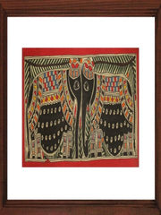 Elephant in Black - Madhubani Hand Painted Wall hanging