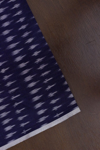 Dark Purple Handwoven Ikat Fabric