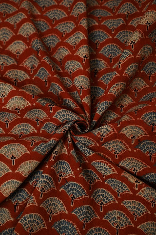 Ajrak-Fabric-Block Print