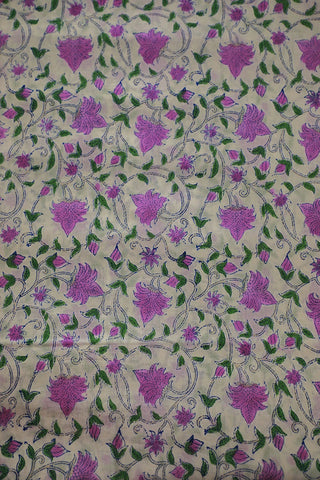 Fabrics-Sanganeri Fabric-Cotton Fabric