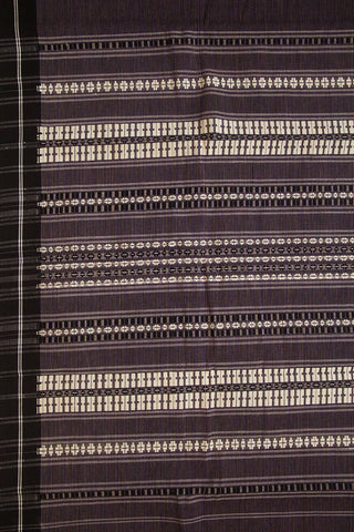 Coloured Stripes with black Begampur Cotton Saree