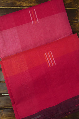 Shades of Pink Handwoven Cotton Saree