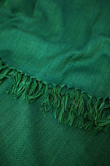 Green and Blue Woolen Stole
