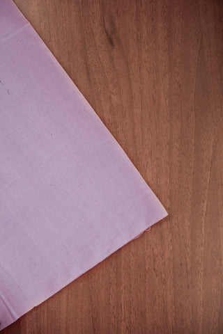 Light Lavendar Natural Dyed Khadi Cotton Fabric