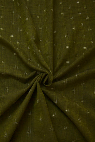 Green Double Ikat Fabric