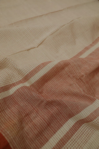 Handwoven Cotton Saree - Matkatus