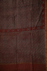 Chanderi Silk Cotton Saree - Matkatus