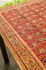 Block Printed Table Cloth