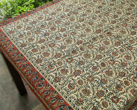Kalamkari Table Cover