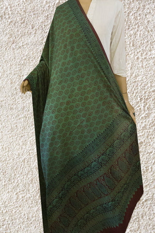 Bagh Block Printed Cotton Dupatta