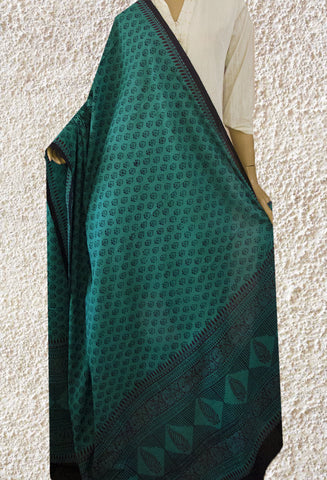 Ramar Blue Bagh Printed Cotton Dupatta