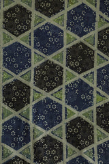 Indigo Big Stars Ajrak Cotton Fabric
