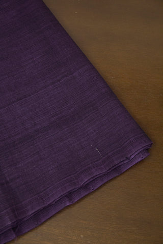Double Shaded Lavender Handwoven Mangalagiri Cotton Fabric