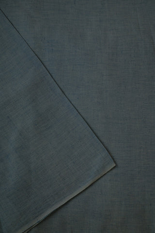 Light Blue Handwoven Linen Cotton Fabric