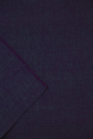 Double Shaded Purple Yarn Dyed Handwoven Cotton Fabric