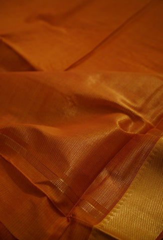 Handwoven Mangalagiri Cotton Saree