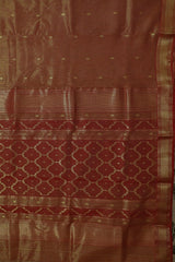 Maheshwari silk Cotton Saree - Matkatus