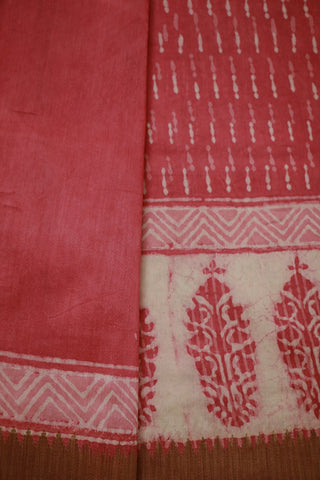 Silk Cotton Saree - Matkatus