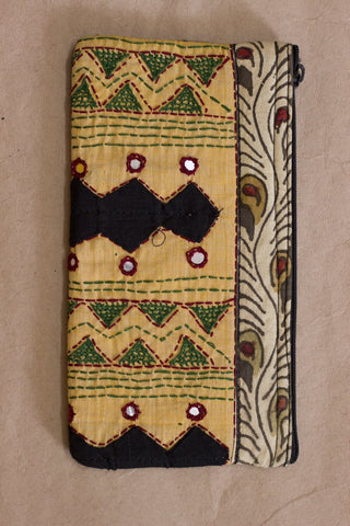 Painted Kalamkari Purse