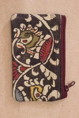 Painted Kalamkari Mini Purse